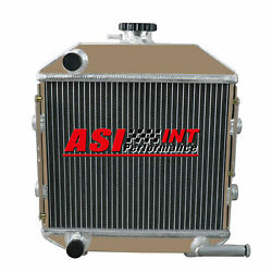 Sba310100211 Aluminum Cooling Radiator With Cap For Ford Compact Tractor 1300