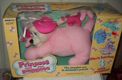 9988 Rare Nrfb Vintage Remco 1992 Princess And Her Puppies