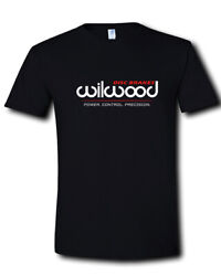 Wilwood Disc Brakes Logo Power Specialty OEM Racing Black T-Shirt S M L - 2XL