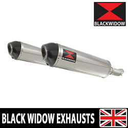 Gsx1400 K2 K3 K4 02 03 04 4-2 Exhaust Silencers End Cans Stainless+carbon 400st