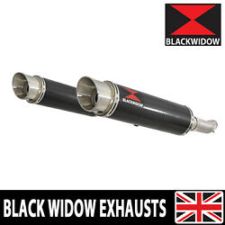 Gsx1400 K2 K3 K4 02 03 04 4-2 Exhaust Silencers End Cans Carbon+stainless Cg36r