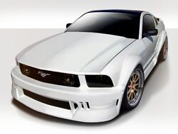 Circuit Wide Body Kit 9 Piece Fits Ford Mustang 05-09 Duraflex