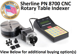 Sherline Pn 8700 Cnc Rotary Table Indexer Stepper Motor And Optional Chucks