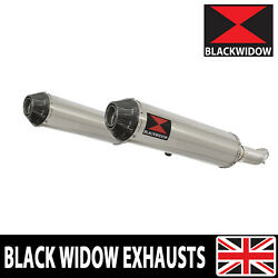 Gsx1400 K2 K3 K4 02-04 4-2 Exhaust Silencers End Cans Stainless + Carbon Sc37r