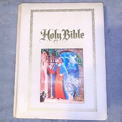 Vintage Hardcover Holy Bible Family Edition King James Red Letter 3d Picture