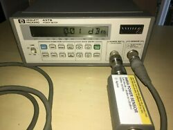 Agilent/hp 437b + 8485a +11730+adapter 26.5 Ghz All Tested Good Condition