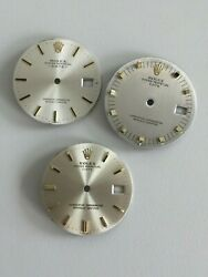 Rolex Dial Lot For Vintage Date 1500 1501 And 1503 Watch 34mm For Parts Watches