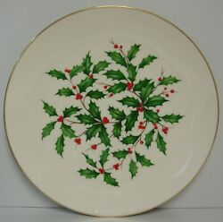 Lenox Holiday 12-3/4 Coupe Chop Plate Best More Items Available Holly Dimension