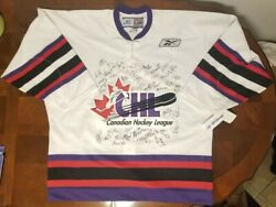 Rare 2005 Chl Autographed Top Prospects Hockey Jersey