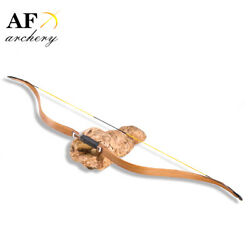 Af Archery 20-50lbs Tatar Bow Oak Traditional Recurve Bow Hunting And Shooting