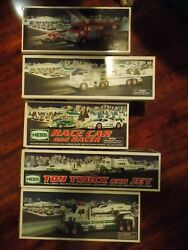Lot Of 5 Unopened Hess Trucks - 2005, 2006, 2009, 2010, 2014 Collectible