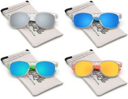 Retro Vintage Square Fashion Glasses Men Women Youth Classic Mirrored Sunglasses $8.99
