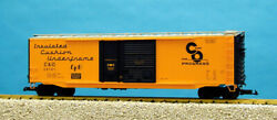 Usa Trains G Scale 50 Ft Double Plug/steel Box Car R19306c Ches And Ohio - Yellow