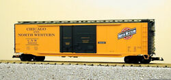 Usa Trains G Scale 50 Ft Double Plug/steel Box Car R19312c Candnw - Yellow