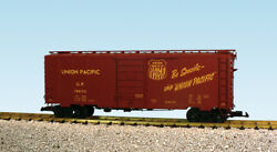 Usa Trains G Scale 6 Ft. Panel Door Ps1 Box Car R19228a Union Pacific - Oxide Re