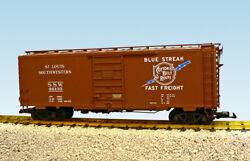 Usa Trains G Scale 6 Ft. Panel Door Ps1 Box Car R19236a Cotton Belt - Brown