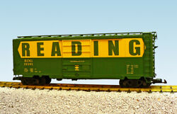 Usa Trains G Scale 8 Ft. Panel Door Ps1 Box Car R19240b Reading - Green