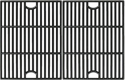 Cast Iron Cooking Grates Grid 2pc 17 For Nexgrill Kenmore Members Mark Uniflame