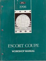 1998 Ford Coupe Factory Shop Repair Service Manual