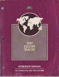 1997 Ford Escort Mercury Tracer Factory Shop Service Manual