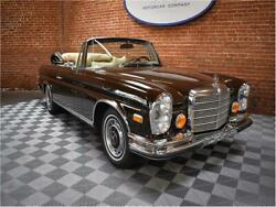 1971 Mercedes Benz 200-Series 3.5 1971 Mercedes Benz 280SE Tobacco Brown with 83568 Miles available now!