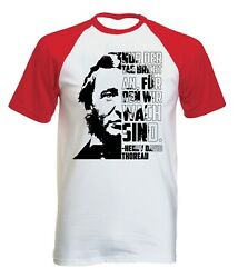 Henry David Thoreau Nur Der Tag - NEW COTTON BASEBALL TSHIRT ALL SIZES $20.86
