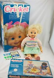 1984 Cricket Doll And Game By Playmates Working In Good Condition Free Shipping