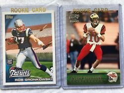 Tom Brady And Rob Gronkowski Rookie Cards Only 200 Made Ultra Rare