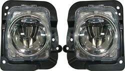 FITS ACURA MDX 2014-2016 LEFT RIGHT FOG LIGHTS DRIVING LAMPS BUMPER WBULBS PAIR