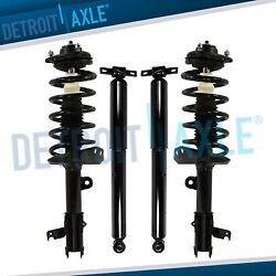 Honda Odyssey Struts Coil Assembly + Shock Absorbers All 4 Front And Rear Fwd