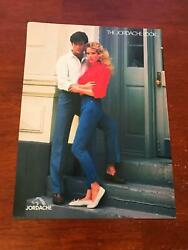 1984 Vintage 8x11 Print Ad Live The Jordache Look Couple With Jeans 80s Fashion