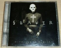 SLAYER DIABOLUS IN MUSICA BMG CD KERRY KING GUITAR PICK OZZFEST 1999 AUTHENTIC