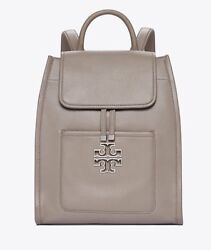 NEW Tory Burch Britten Backpack French Gray $550.00