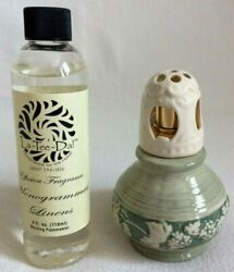 Small Fragrance Effusion Lamp W/4 Oz. Fragrance Oil Alternative Cap And Crown