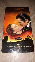 Vintage Gone With The Wind Vhs 1999 2-tape Set. Plays Great.