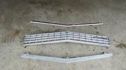 1973 Buick Electra 225 Grill + Hood Trim Oem Vtg 73 3 Pc Upper And Lower Lesabre
