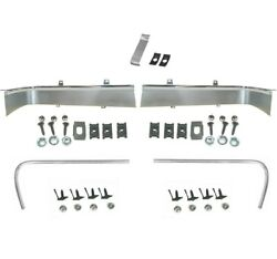 19671968 Mustang Grille Molding Set Wide And Narrow 2right +2 Left +1center