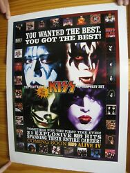 Kiss Poster The Very Best Of Explosive Hits Band Face Shots Album Covers