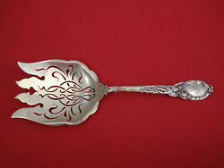 La Parisienne By Reed And Barton Sterling Asparagus Serving Fork Pcd 9 3/4