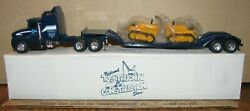 Ertl 1/64 Semi Truck And John Deere 430 Crawler 1997 Toy Construction Show Midwest