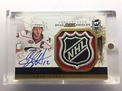 2010-11 Upper Deck The Cup Eric Staal / Jeff Skinner Dual Shield Auto 1/1