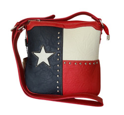 Lone Star Concealed Carry Purse Texas Pride Oil Field Country Crossbody Bag $46.99