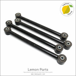 Set Of 4 New Rear Axle Radius Arms + Rubbers For Ferrari 250 Swb Gte Gto And More