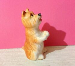 West Highland White Terrier puppy porcelain figurine Russia dog collection