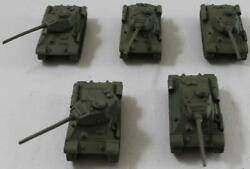 Battlefront FoW WWII Soviet 15mm Loose Mini T-34 Tanks #6 NM