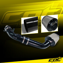 For 10-12 Ford Fusion 2.5l 4cyl Black Cold Air Intake + Black Filter Cover