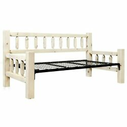 Homestead Collection Daybed W/ Pop Up Trundle Bed Cabin Lodge Camp Day Bed