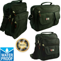 Waterproof Business Crossbody Briefcase Messenger Black Shoulder Satchel Bag $9.88
