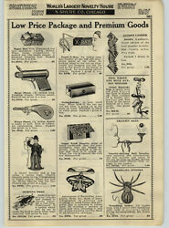 1932 Paper Ad Charlie Chaplin Mechanical Toy Pull String Tips Hat