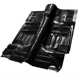19651968 Mustang Floor Pan Complete Convertible / Modify To Fit 1969-73 3648b